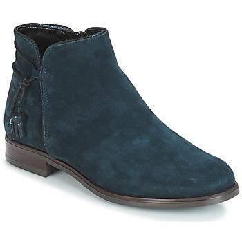 Cipők Női Csizmák André BILLY Kék