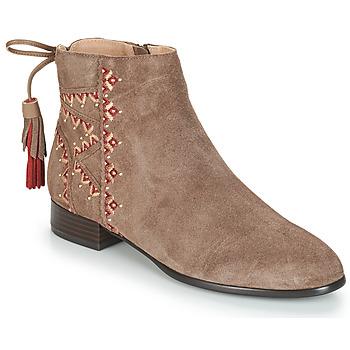 Cipők Női Csizmák André TSAR Bézs