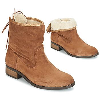 Cipők Női Csizmák André TELEX Barna