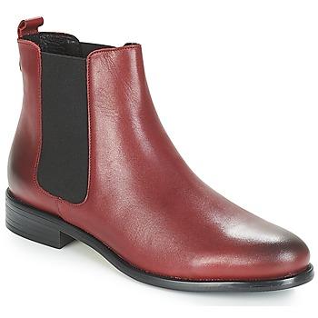 Cipők Női Csizmák André CARAMEL Piros