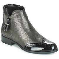 Cipők Női Csizmák André ALINA Bronz / Fekete