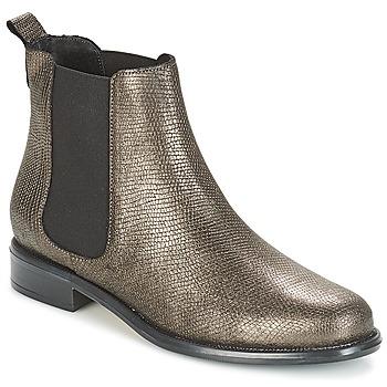 Cipők Női Csizmák André CARAMEL Bronz