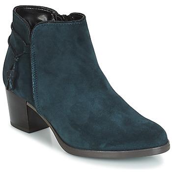Cipők Női Bokacsizmák André MISTINGUETTE Kék
