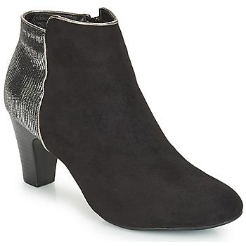Cipők Női Csizmák André FLORIE Fekete