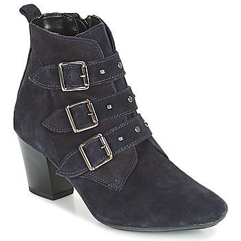 Cipők Női Bokacsizmák André TRACY Kék