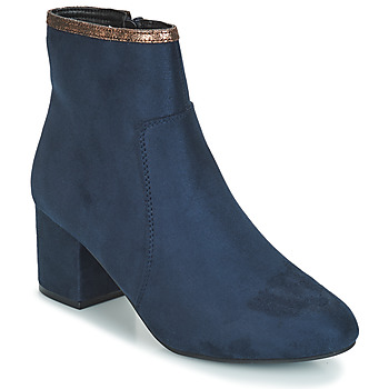 Cipők Női Csizmák André FALOU Kék