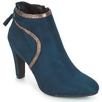 Cipők Női Bokacsizmák André AUREL Kék