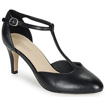 Cipők Női Félcipők André FALBALA Fekete
