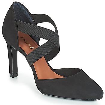 Cipők Női Félcipők André FIONA Fekete