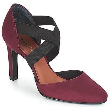 Cipők Női Félcipők André FIONA Bordó