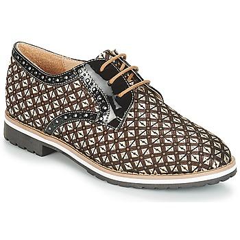 Cipők Női Oxford cipők André DERIVEUR Barna