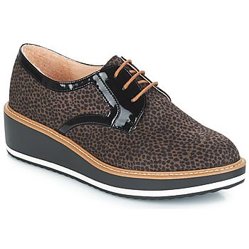 Cipők Női Oxford cipők André CHICAGO Barna