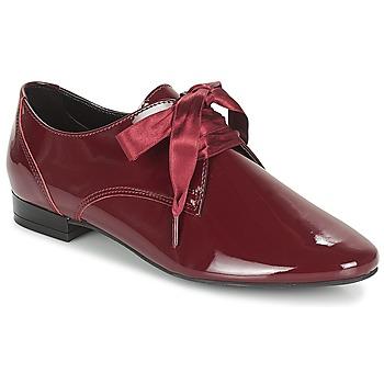 Cipők Női Oxford cipők André GOURMANDISE Bordó