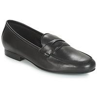 Cipők Női Mokkaszínek André TIM Fekete