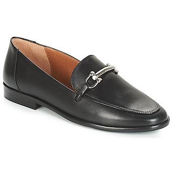 Cipők Női Mokkaszínek André FLAVIGNY Fekete
