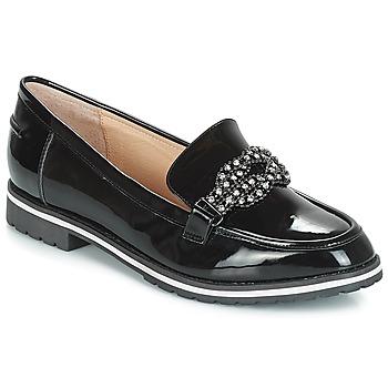 Cipők Női Mokkaszínek André AMETHYSTE Fekete