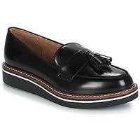 Cipők Női Mokkaszínek André TAXI Fekete