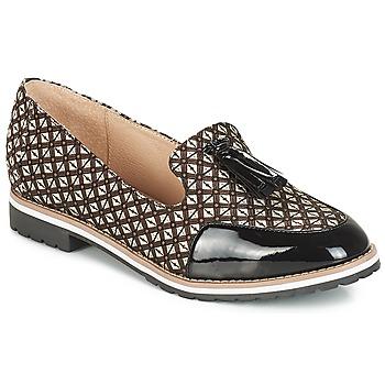 Cipők Női Mokkaszínek André EMOTION Barna