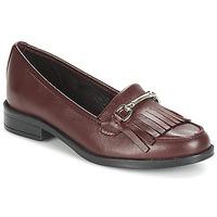 Cipők Női Mokkaszínek André TYRI Bordó