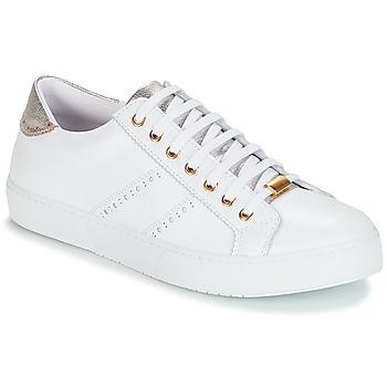Cipők Női Rövid szárú edzőcipők André BERKELEY Fehér