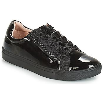 Cipők Női Rövid szárú edzőcipők André THYMIE Fekete