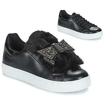 Cipők Női Rövid szárú edzőcipők André TELAMONE Fekete
