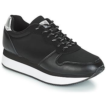 Cipők Női Rövid szárú edzőcipők André TYPO Fekete