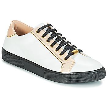 Cipők Női Rövid szárú edzőcipők André BERKELITA Fehér