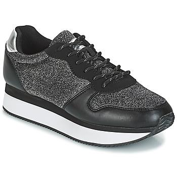 Cipők Női Rövid szárú edzőcipők André TYPO Fekete  / Ezüst