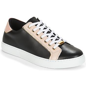 Cipők Női Rövid szárú edzőcipők André BERKELITA Fekete  / Bézs