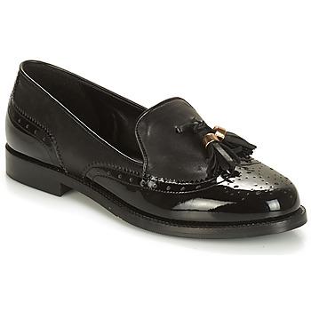 Cipők Női Mokkaszínek André PELICAN Fekete