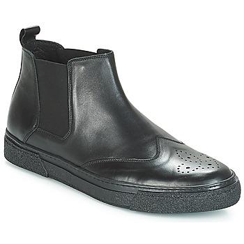 Cipők Férfi Csizmák André OASIS Fekete