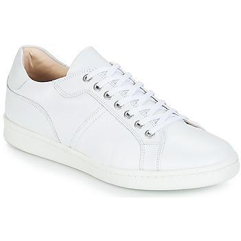 Cipők Férfi Rövid szárú edzőcipők André AURELIEN Fehér
