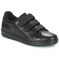 Cipők Férfi Rövid szárú edzőcipők André AVENUE Fekete
