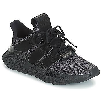 Cipők Gyerek Rövid szárú edzőcipők adidas Originals PROPHERE J Fekete