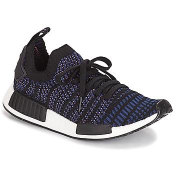 Cipők Női Rövid szárú edzőcipők adidas Originals NMD R1 STLT PK W Fekete