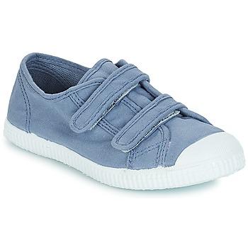 Cipők Fiú Rövid szárú edzőcipők André LITTLE SAND Kék