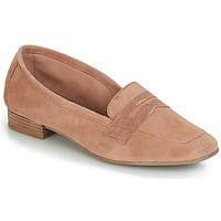 Cipők Női Mokkaszínek André NAMOURS Bőrszínű