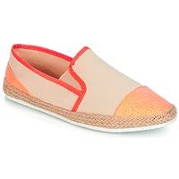 Cipők Női Gyékény talpú cipők André DIXY Korall