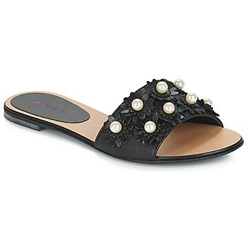 Cipők Női Papucsok André LORETTA Fekete