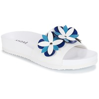 Cipők Női Papucsok André GARDENIA Kék