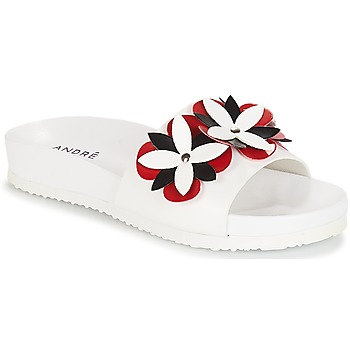 Cipők Női strandpapucsok André GARDENIA Fehér