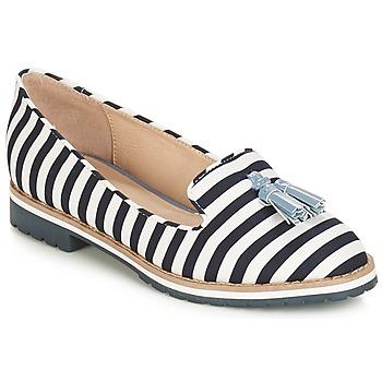 Cipők Női Mokkaszínek André DINAN Fehér