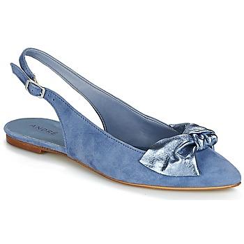 Cipők Női Balerina cipők / babák André LARABEL Farmer