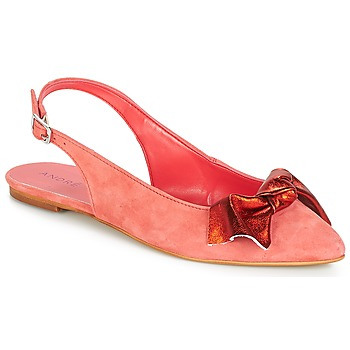 Cipők Női Balerina cipők / babák André LARABEL Korall