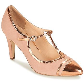 Cipők Női Félcipők André LORETTE Rózsaszín