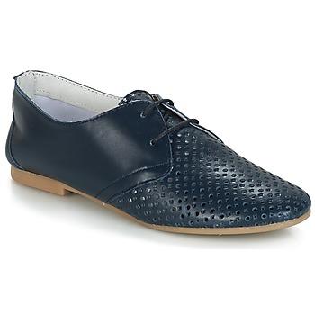 Cipők Női Oxford cipők André DELICATESSE Tengerész