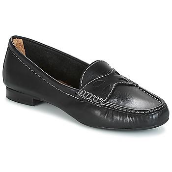 Cipők Női Mokkaszínek André DORY Fekete