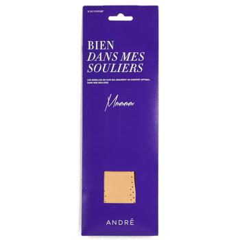 Kiegészítők Cipő kiegészítők André SEMELLE CUIR Bézs