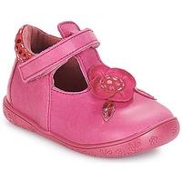 Cipők Lány Balerina cipők / babák André FLORE Fukszia